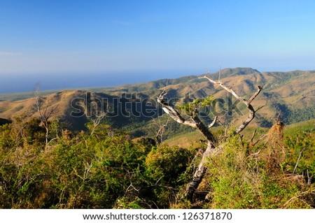 Sierra del Escambray, Cuba - stock photo