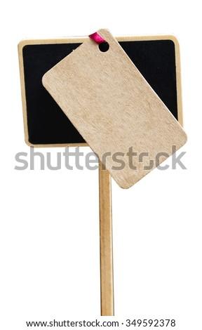 Sign Chalk Board - stock photo