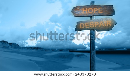 sign direction  PROFIT - LOSS made in 3d software - stock photo
