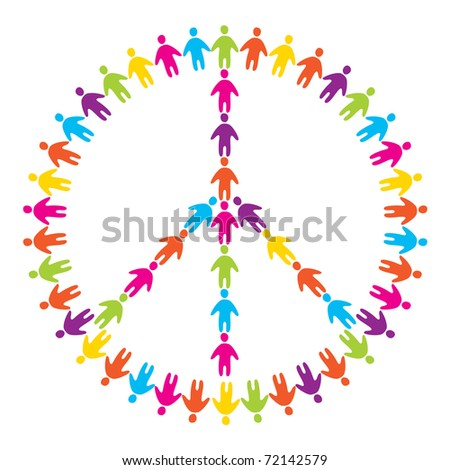 sign of peace - peace for all people
