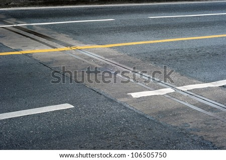 sign on street - stock photo