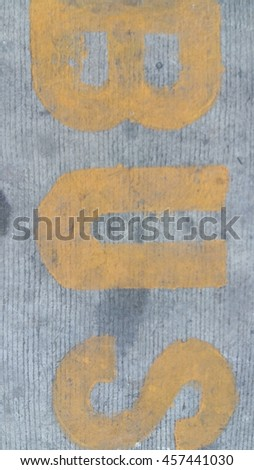 sign on the road - stock photo