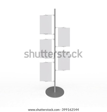 Signage on the post Isolation - stock photo