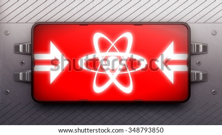 Signboard on a wall - stock photo