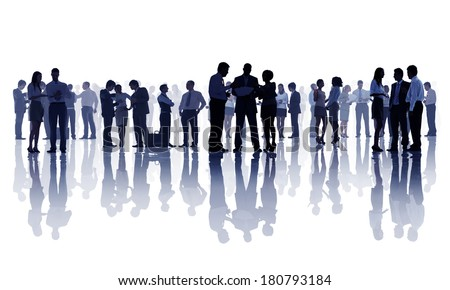 Group Silhouette Stock Photos, Images, & Pictures ...