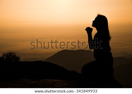 Kneeling In Prayer Stock Images, Royalty-Free Images & Vectors ...