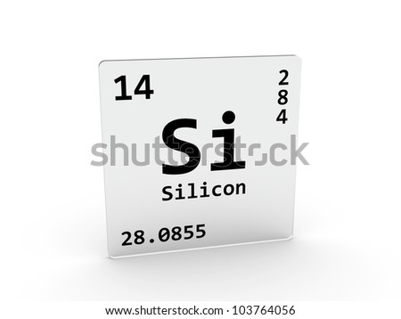 Silicon symbol si element periodic table stock illustration silicon symbol si element of the periodic table urtaz Images