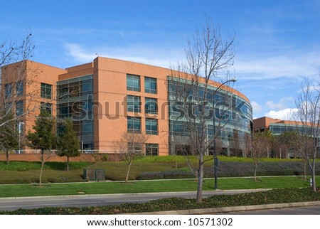Silicon valley might - modern architecture - stock photo