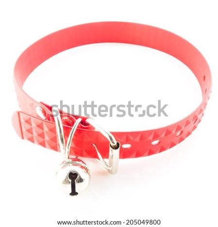Silicone Dog collar - stock photo