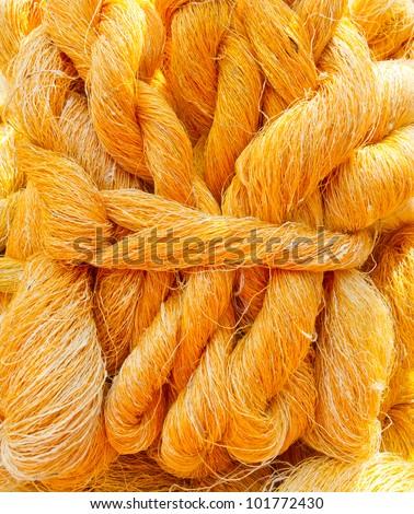 silk cocoon pattern - stock photo