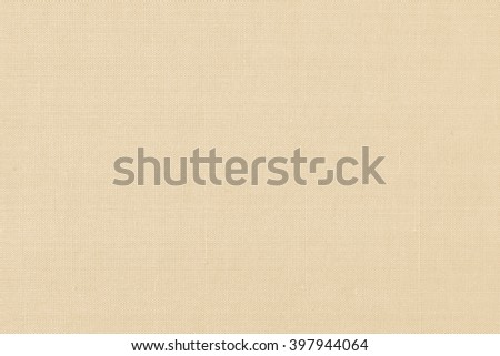Silk fabric wallpaper texture pattern background in pastel yellow gold creme beige color tone: Fine natural raw Thai silk detail textured organic fiber textile backdrop earth brown toned colour - stock photo
