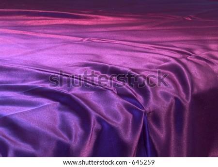 Silk sheet - stock photo