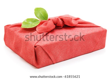Silk wrapping cloth