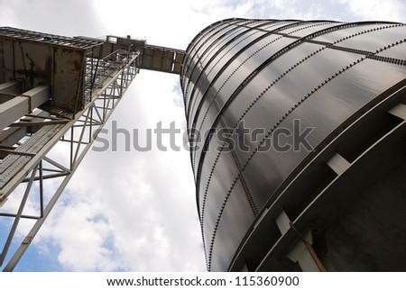 silo - stock photo