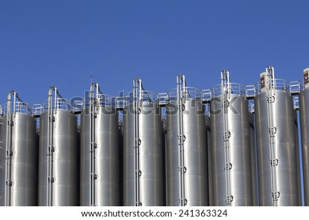 Silos in the chemical industry