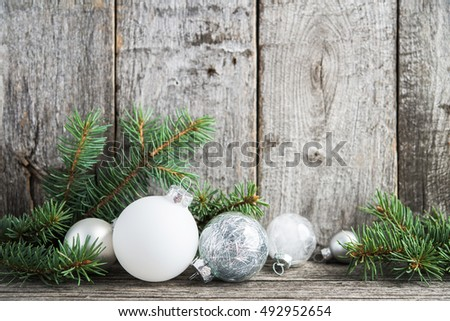 Christmas Card Background Green Theme Merry And Happy