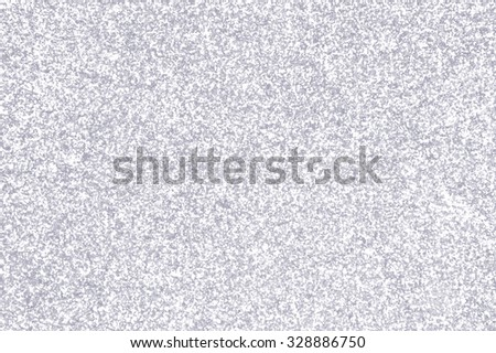 Silver and white glitter sparkle winter texture - stock photo