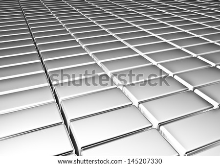 Silver  background. - stock photo