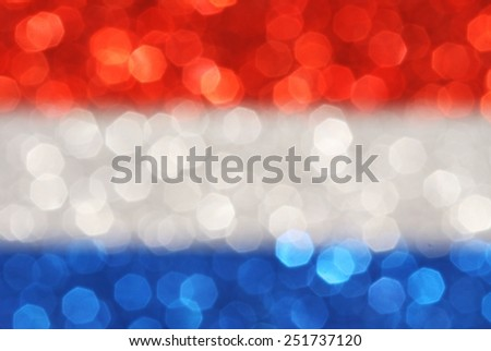 Silver, blue, red horizontal stripes abstract background - stock photo