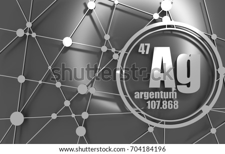 Silver chemical element sign atomic number stock illustration silver chemical element sign with atomic number and atomic weight chemical element of periodic urtaz Image collections