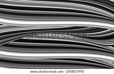 Silver chromium wave background