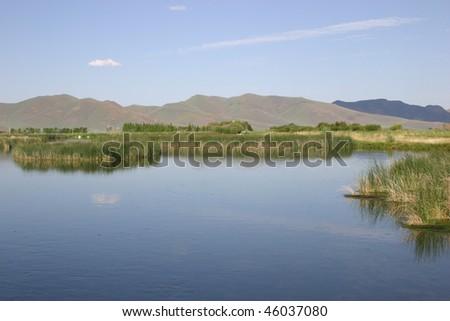 Silver Creek, Idaho - stock photo