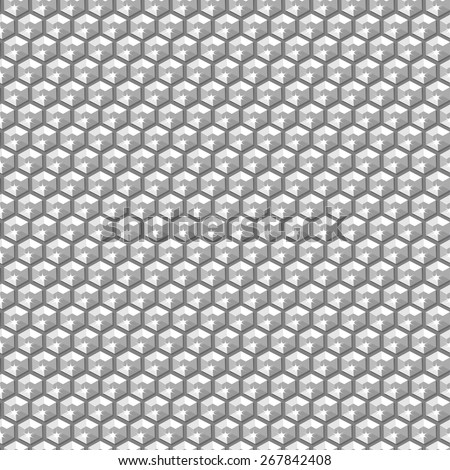 Silver crystal sequins in a seamless pattern .