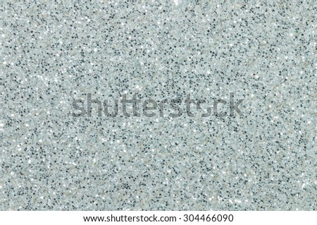 silver glitter texture christmas abstract background - stock photo