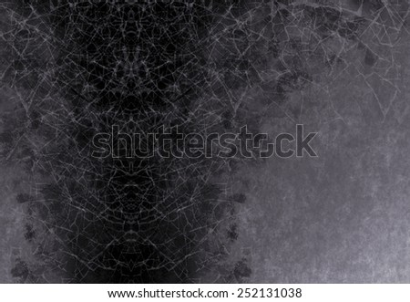 silver gray background black abstract design, retro grunge background texture layout of diamond element pattern and spotlight center, carbon or charcoal grey color, background template design website - stock photo