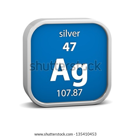 Silver periodic table stock images royalty free images vectors silver material on the periodic table part of a series urtaz Images