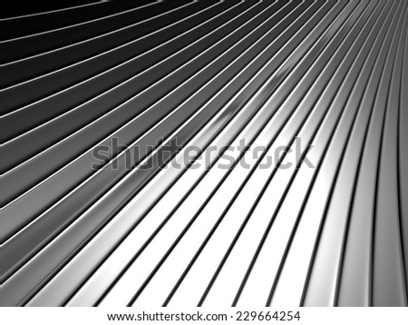 Silver metal background 3d illustration - stock photo
