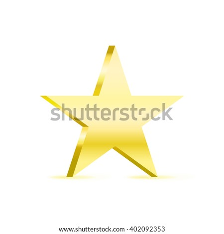 silver metal star icon symbol