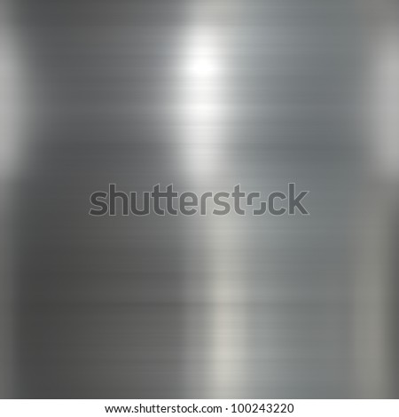 silver metallic background - stock photo