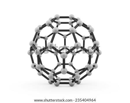 Silver molecular mesh tube structure rendered - stock photo
