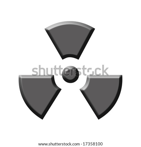silver nuclear sign
