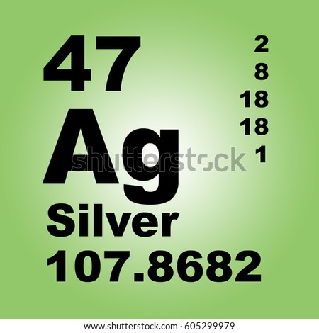 Silver periodic table elements stock illustration 605299979 silver periodic table of elements urtaz Choice Image