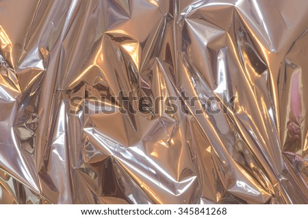 silver shiny metallic foil background