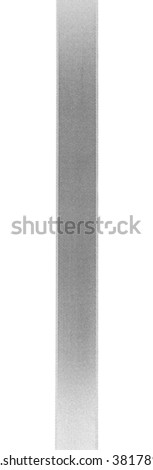 Silver silk ribbon isolated on white background - stock photo