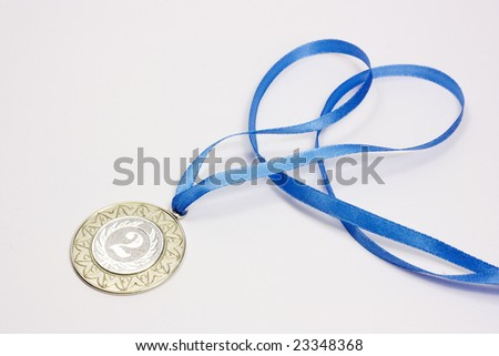 Silver sport medal