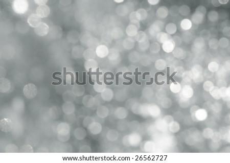 silver spots - stock photo