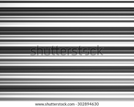 Silver straight metal background 3d illustration - stock photo