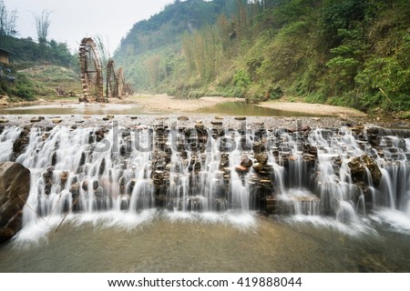 Silver Waterfall, Sapa, Vietnam