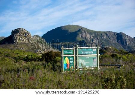 Silvermine Nature Reserve,Cape Town - stock photo