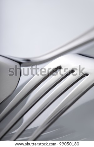 silverware - stock photo