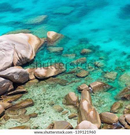 Similan island, Andaman sea, Thailand - stock photo