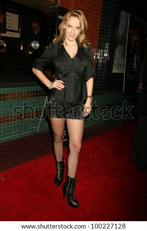 "Simona Fusco at the ""Brando Unauthorized"" Los Angeles Premiere,  Majestic Crest Theater, Westwood, CA. 11-09-10"