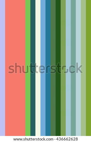 Simple abstract of vertical stripes in solid colors for decoration and background with motifs of repetition and variation