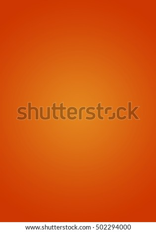 Simple abstract orange background with gradient