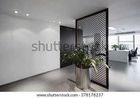 Simple and stylish office environment