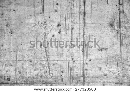 Simple concrete wall background with texture - stock photo
